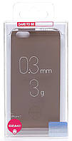 Чехол ozaki oc530lb light brown o!coat-0.3-solid iphone 5/5s