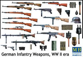 Стрелковое оружие немецкой пехоты WWII. 1/35 MASTER BOX 35115