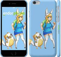 "Чехол на iPhone 6 Adventure Time. Fionna and Cake ""2442m-45"""