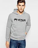 Молодежная кенгуру с капюшоном,худи веном,venom