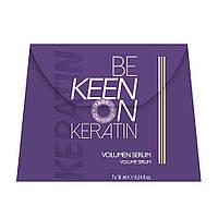 Keen Keratin Ампульная сыворотка с кератином для объема волос, 7*10 мл