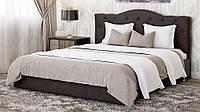 Кровать  двухспальная Медея  160х200 с мягким изголовьем и подъемным механизмом