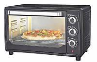 Мини-печь Astor CZ 1536 black, мини-печь электрическая Astor, электропечь, мини печь духовка для дома