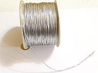 Нить, Люрикс, Серебро, 0.8 мм