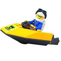"""Конструктор BRICK (LEGO) """"Моторная лодка"""" 19 деталей, 1209"""