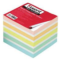 """Бумага для заметок Axent Elite """"Color"""" 8028-A 90х90х70мм, непрок"""