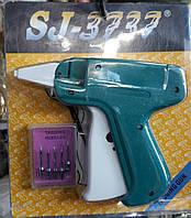 Игольчатый этикет пистолет для крепления бирок и этикеток, с 5 иголками в комплекте