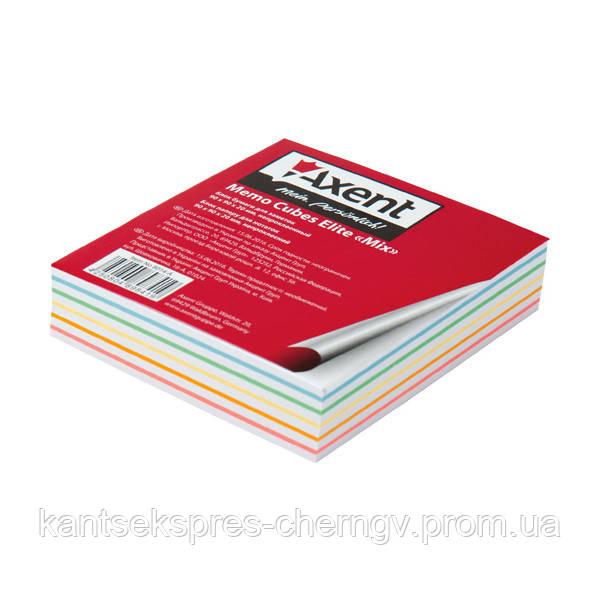 """Бумага для заметок Axent Elite """"Mix"""" 8014-A 90х90х20мм, непрок"""