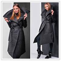 Стильное пальто Стеганка (зима-весна)