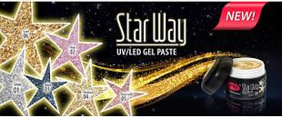 Колекція глиттерных гель-паст Star Way PNB