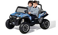 PEG PEREGO Квадроцикл Ranger ATV RZR 900 Синий 12V