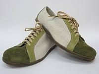 Обувь из конопли. Туфли мужские «Логан 1»