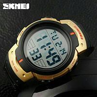 Часы спортивные Skmei Duster 1068 - Gold (5 bar), фото 1