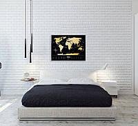 Скретч Карта Мира Travel Map Black