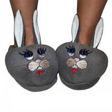 Тапочки игрушки Кролики, размеры: 33. (тапочки детские ,тапочки женские, тапочки подростковые)