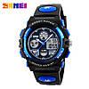 Часы спортивные Skmei Dual Time 1163 (5 bar) blue