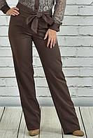 Коричневые брюки 020-1 (идеально сочетаются с блузкой 0361-1)