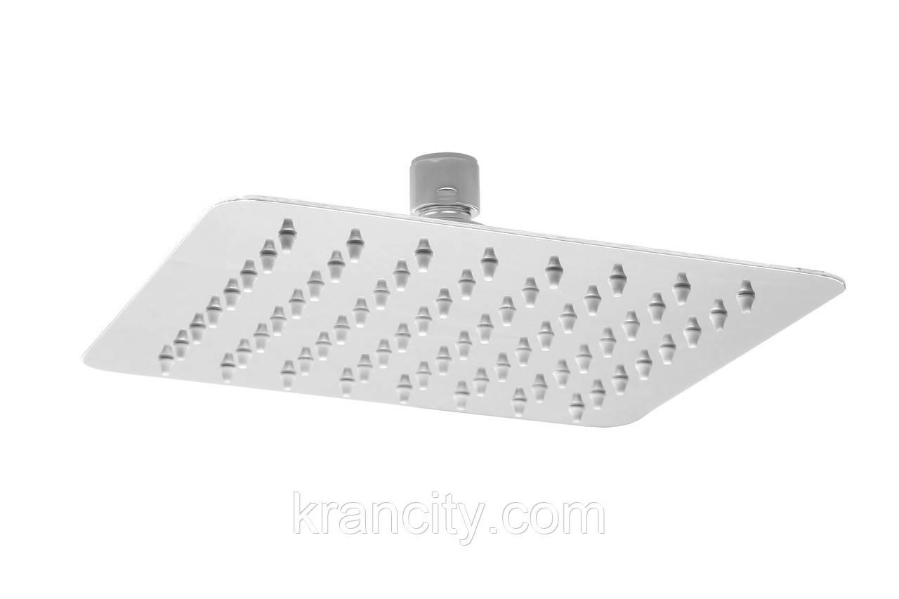 Верхний душ Deante Floks NAC_002K, квадратный, 250 мм, Польша