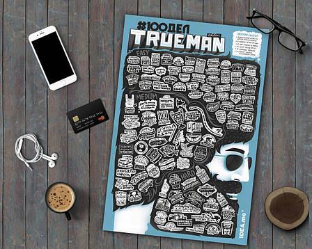 Постер #100 ДЕЛ TRUEMAN edition