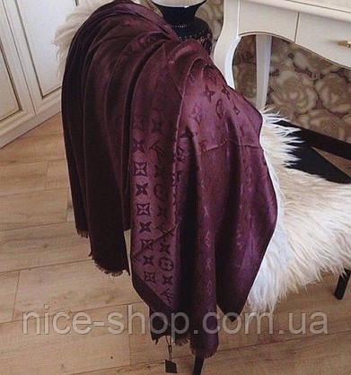 Палантин Louis Vuitton марсал, фото 2