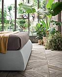 Современная кровать в ткани с мягким высоким изголовьем LENNY фабрика Felis (Италия), фото 9
