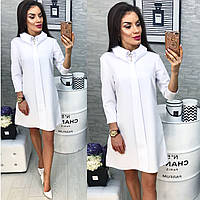 Платье женское, модель 770, белый