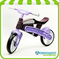 Детский Беговел Real Baby KB7500 purple-brown