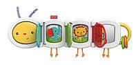 Развивающая игрушка гусеница путешественница для малыша Fisher Price (Фишер прайс)