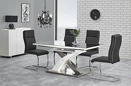 Стол обеденный деревянный SANDOR 2 Halmar черный