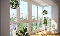 Остекление балконов и лоджий с нестандартными проемами
