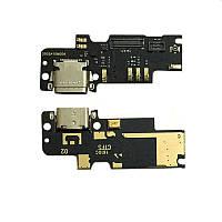Плата нижняя Xiaomi Mi4c,  с разъемом зарядки и компонентами,  плата зарядки