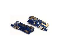 Плата нижняя Meizu M3s / M3s Mini,  с разъемом зарядки и компонентами,  плата зарядки