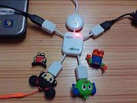 USB хаб на 4 порта Человечек