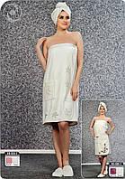 Комплект для сауны женский Nusa 030-2
