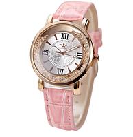 Часы наручные женские с кристаллами код 333