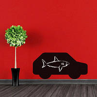 Наклейка на стену для рисования «Машина»
