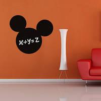 Наклейка на стену для рисования «Микки Маус»