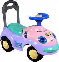 Машинка каталка  ARTI 2109MY Горбун Music-фиолетовый