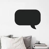 Наклейка на стену для рисования «Сообщение» (40см)