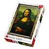 Пазл Мона Лиза, 1000 элементов, TFL-10002, Trefl