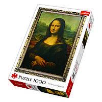 Пазл Мона Лиза, 1000 элементов, TFL-10002, Trefl, фото 1