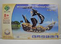 3D пазл пиратский корабль (5 досок)