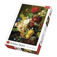 Пазл Натюрморт с цветами, 1500 элементов, TFL-26120, Trefl