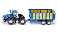 Фермер - 1:87: New Holland T9.560 с прицепом SIKU
