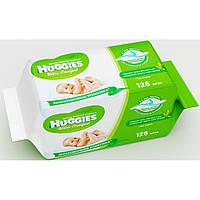 Влажные салфетки Huggies Ultra Comfort Aloe Duo 64х2шт
