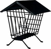 Кормушка-домик для сена Trixie, 20*23*20 см (черная)