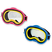 Детская маска для плавания Intex 55913 2 цвета, маска пловца от 8 лет