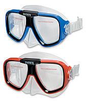 Маска для плавания Sea Scan Swim Intex 55974 2 цвета, от 8 лет