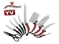 Набор кухонных ножей Contour Pro (Контур Про) 10 предметов