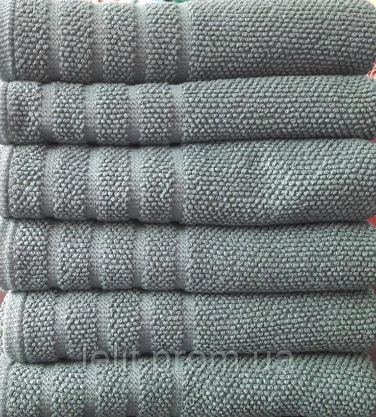 Полотенце махровое  Kreativ grey 50х90